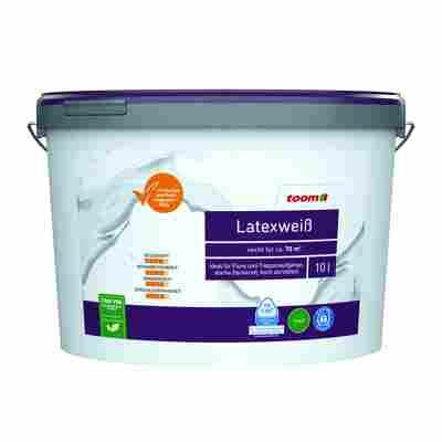 Latexfarbe weiß konservierungsmittelfrei matt 10 l