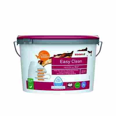 Dispersionsfarbe 'Easy Clean' matt weiß konservierungsmittelfrei 2,5 L