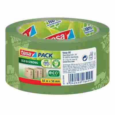 Verpackungsklebeband 'Eco & Strong' grün 66 m