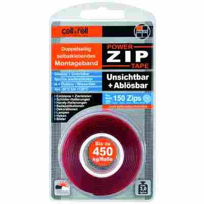 Montageklebeband 'Power ZIP Tape' 1,5 m