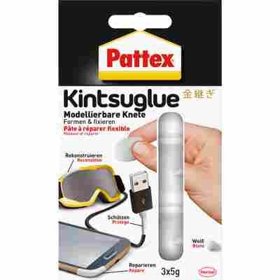 Flexible Knete 'Kintsuglue' weiß 3 x 5 g