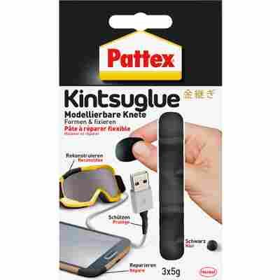 Flexible Knete 'Kintsuglue' schwarz 3 x 5 g
