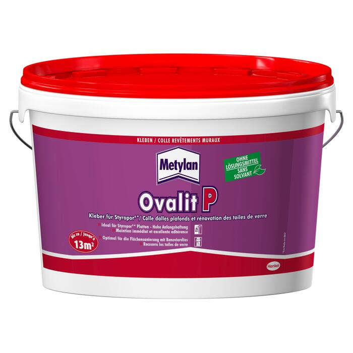 Metylan Styroporkleber Ovalit P 4 5 Kg ǀ Toom Baumarkt