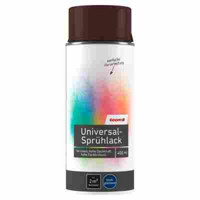 Universal-Sprühlack hochglänzend schokobraun 400 ml