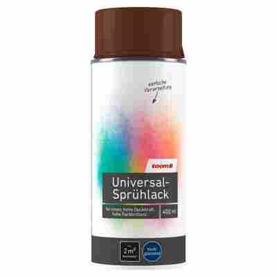 Universal-Sprühlack hochglänzend nussbraun 400 ml