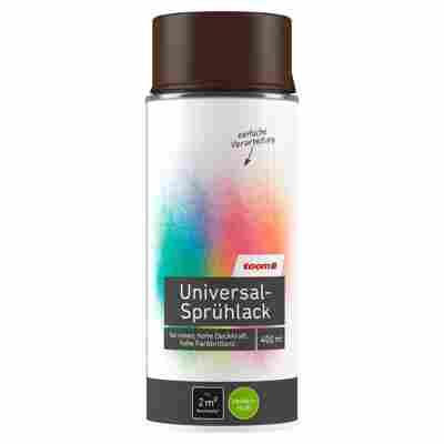 Universal-Sprühlack seidenmatt schokobraun 400 ml