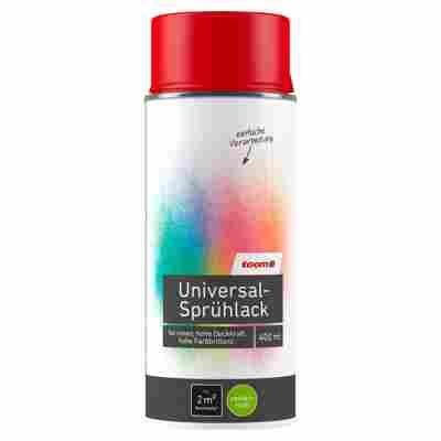 Universal-Sprühlack seidenmatt feuerrot 400 ml