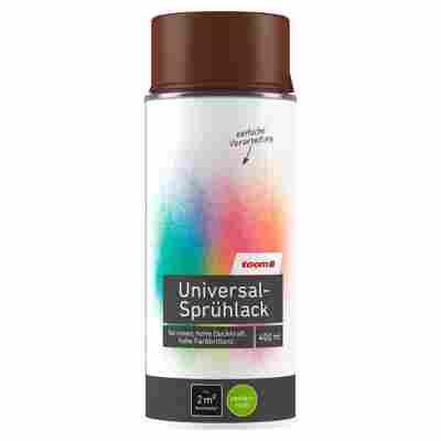 Universal-Sprühlack seidenmatt nussbraun 400 ml