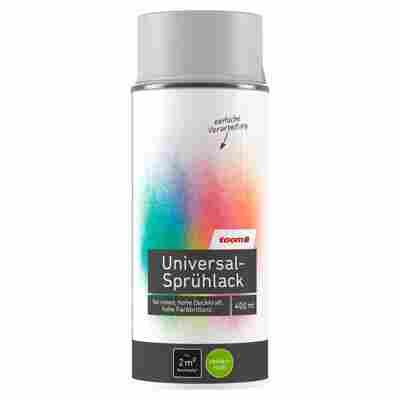 Universal-Sprühlack seidenmatt lichtgrau 400 ml