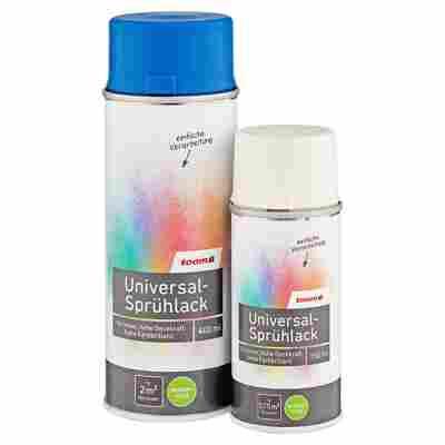 Universal-Sprühlack seidenmatt silbergrau 400 ml