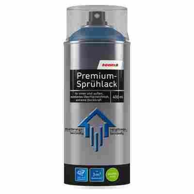 Premium-Sprühlack RAL 5010 'Enzianblau' seidenmatt 400 ml