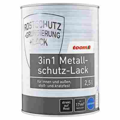 3in1 Metallschutz-Lack weiß glänzend 2500 ml