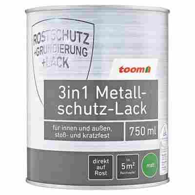 3in1 Metallschutz-Lack weiß matt 750 ml