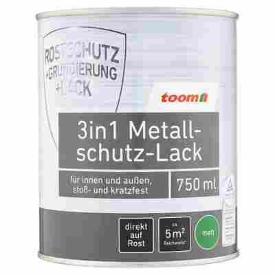 3in1 Metallschutz-Lack schwarz matt 750 ml
