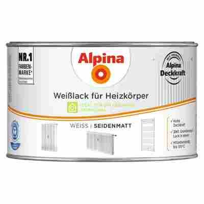 Weißlack für Heizkörper seidenmatt 300 ml