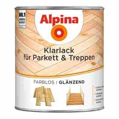 Klarlack für Parkett und Treppen farblos glänzend 0,75 l