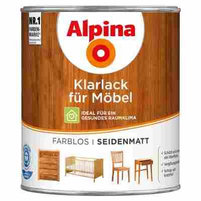 Klarlack für Möbel seidenmatt 0,75 l