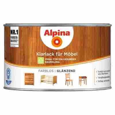 Klarlack für Möbel glänzend 0,3 l