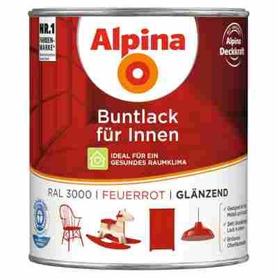 Alpina Buntlack für Innen feuerrot glänzend 750 ml
