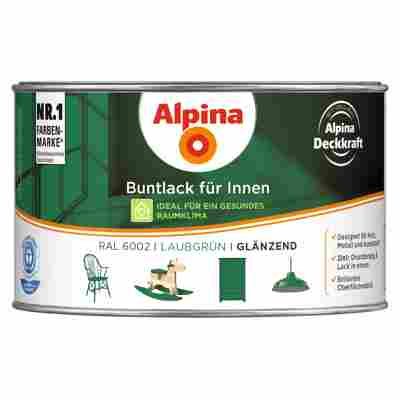 Alpina Buntlack für Innen laubgrün glänzend 300 ml
