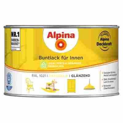 Alpina Buntlack für Innen rapsgelb glänzend 300 ml