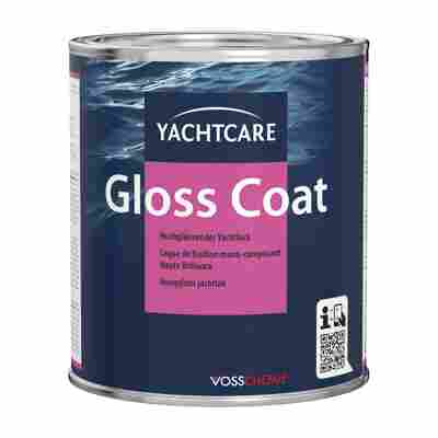 Bootslack 'Gloss Coat' hochglänzend marine-blau 750 ml