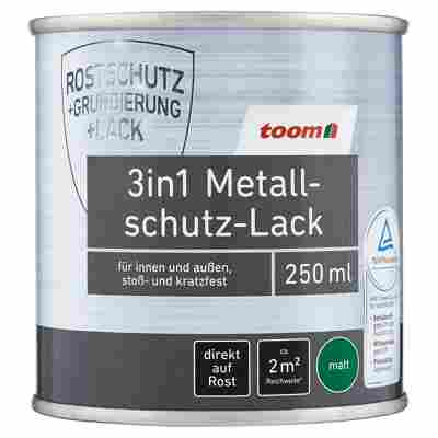 3in1 Metallschutzlack blau matt 250 ml