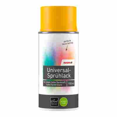 Universal-Sprühlack seidenmatt sonnengelb 150 ml