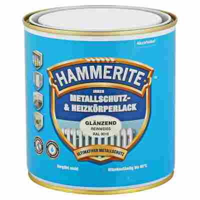 Metallschutz- & Heizkörperlack reinweiß RAL 9010 glänzend 500 ml