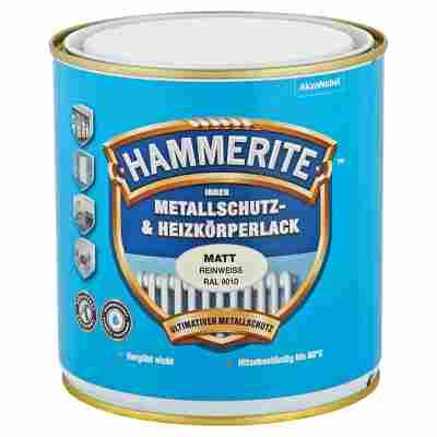 Metallschutz- & Heizkörperlack reinweiß RAL 9010 matt 500 ml