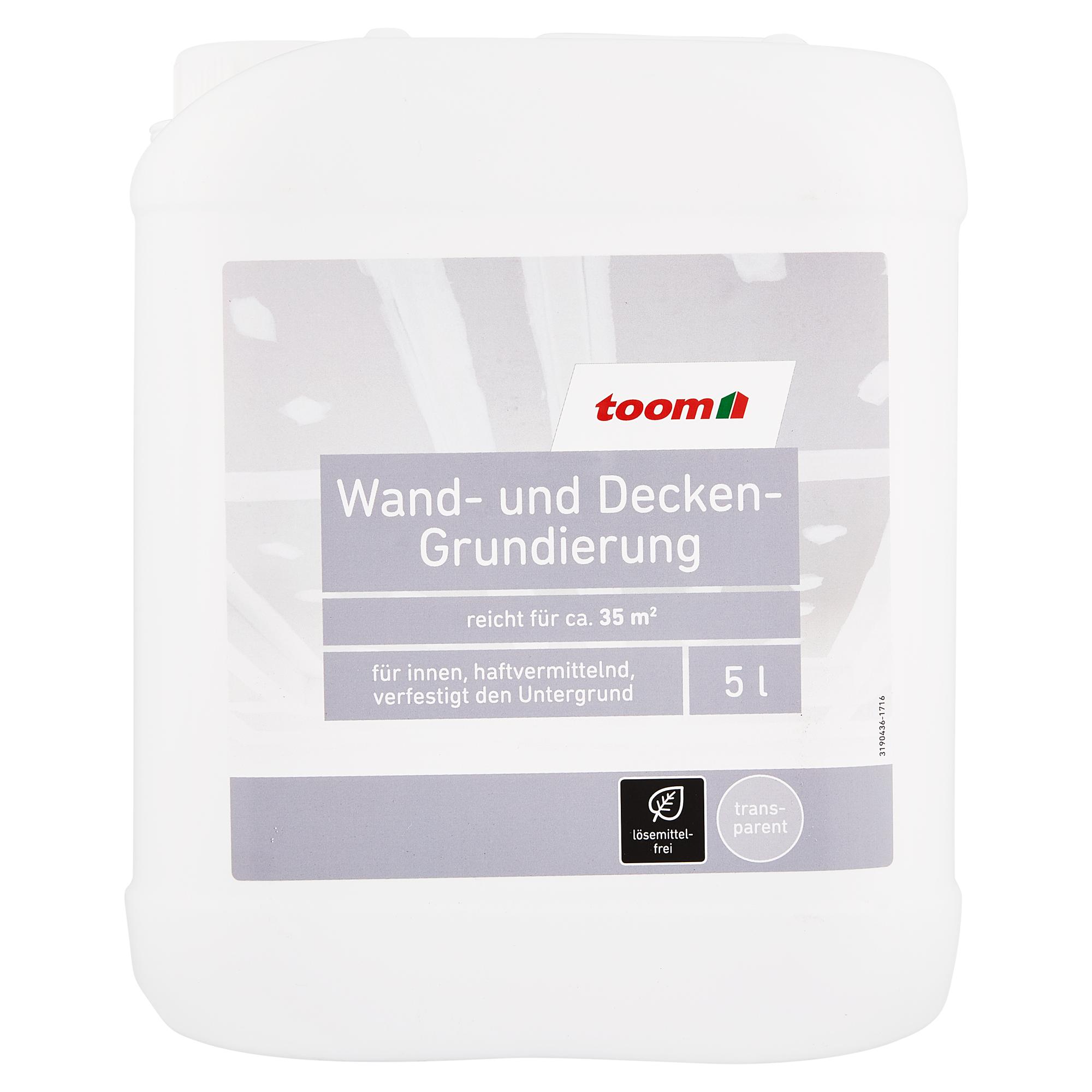 toom wand- und decken-grundierung transparent 5 l ǀ toom baumarkt