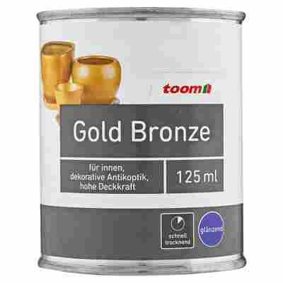 Gold Bronze Effektlack glänzend 125 ml