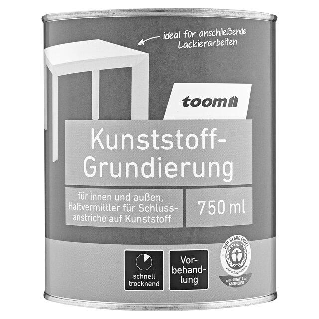 Toom Kunststoff Grundierung Grau 750 Ml ǀ Toom Baumarkt
