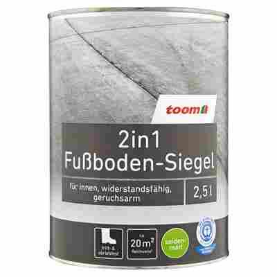 2in1 Fußboden-Siegel seidenmatt silbergrau 2500 ml