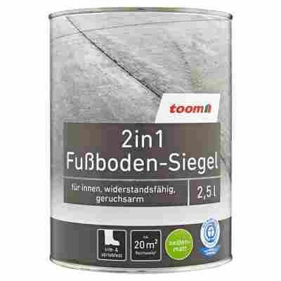 2in1 Fußboden-Siegel seidenmatt blaugrau 2500 ml