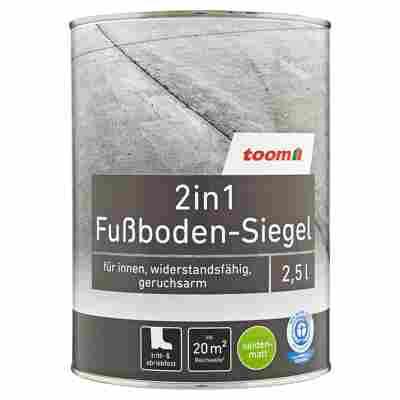 2in1 Fußboden-Siegel seidenmatt graubeige 2500 ml