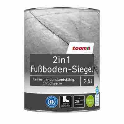 2in1 Fußboden-Siegel seidenmatt betongrau 2500 ml