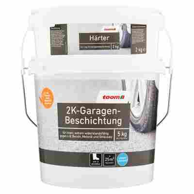 2K-Garagen-Beschichtung seidenglänzend kieselfarben 5 kg