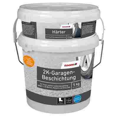 2K-Garagen-Beschichtung seidenglänzend steingrau 5 kg