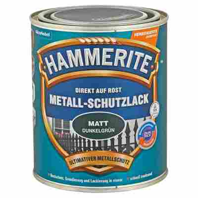 Hammerite Metallschutzlack 'Direkt auf Rost' dunkelgrün matt 750 ml