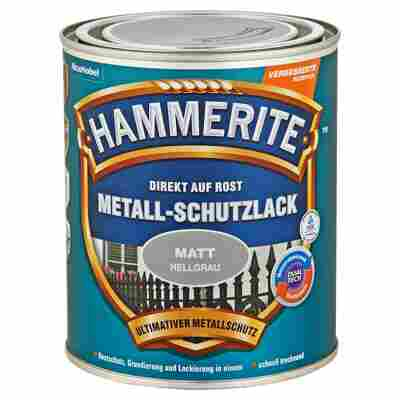 Hammerite Metallschutzlack 'Direkt auf Rost' hellgrau matt 750 ml
