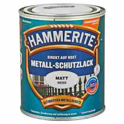 Hammerite Metallschutzlack 'Direkt auf Rost' weiß matt 750 ml