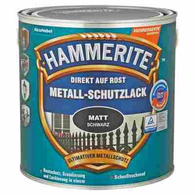 Metallschutzlack 'Direkt auf Rost' schwarz matt 2500 ml