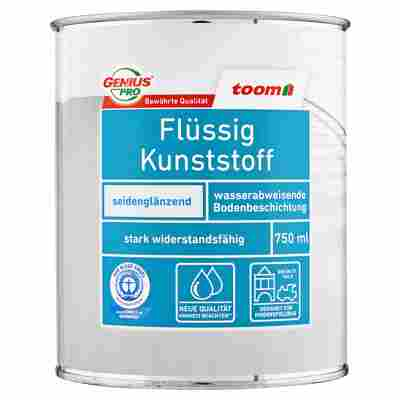 Flüssigkunststoff seidenglänzend tiefschwarz 750 ml