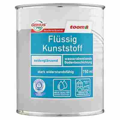 Flüssigkunststoff seidenglänzend silbergrau 750 ml