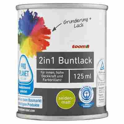 2in1 Buntlack seidenmatt stadtgeflüstergrau 125 ml