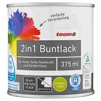 2in1 Buntlack seidenmatt edelbraun 375 ml