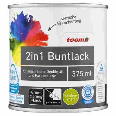 2in1 Buntlack seidenmatt mitternacht 375 ml