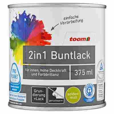 2in1 Buntlack seidenmatt mondschein 375 ml
