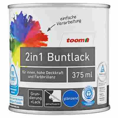2in1 Buntlack glänzend edelbraun 375 ml